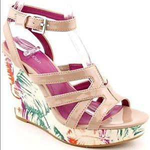 Calvin Klein Summer Wedge Sandal